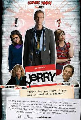 My Name Is Jerry - Official poster for the film