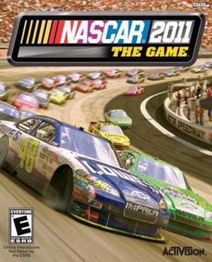 NASCAR The Game: 2011 - Image: NASCAR 2011 cover