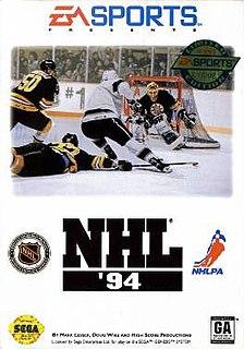 <i>NHL 94</i> 1993 ice hockey video game