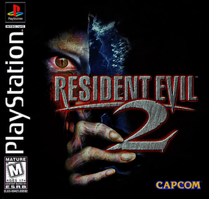 Resident Evil 2 - North American PlayStation cover art