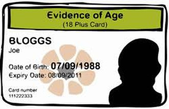 Australian state and territory issued identity photo cards - Image: NT Evidence of age card