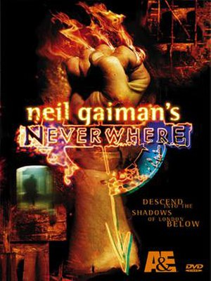Neverwhere - Neverwhere DVD cover