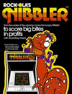<i>Nibbler</i> (video game) 1982 video game