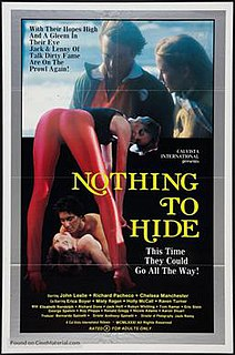 <i>Nothing to Hide</i> (1981 film) 1981 film by Anthony Spinelli