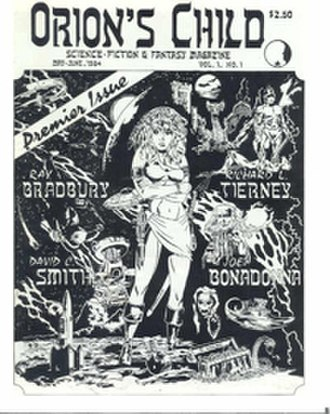 Orion's Child Science Fiction & Fantasy Magazine - First issue cover