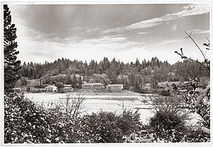 Pacific Union College - An early image of Pacific Union College's campus overlooking the Napa Valley