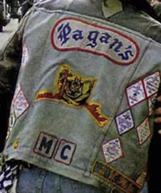 Pagan's Motorcycle Club - Image: Pagans mc patch