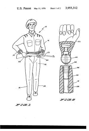 Action Man - Image: Patent 3,955,312