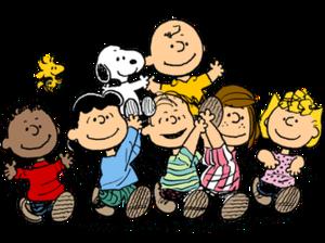 Fritzi Ritz - Image: Peanuts gang