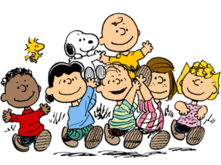 <i>Peanuts</i> Comic strip by Charles M. Schulz