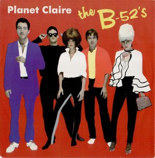 Planet Claire 1979 single by The B-52s