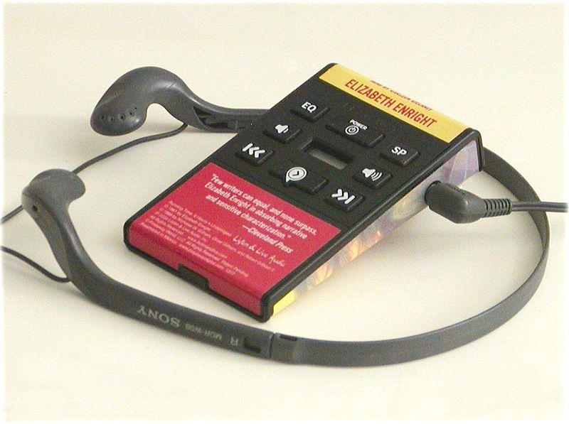 Playaway portable audiobook