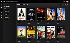 Plex (software) - Plex Web App: Users can manage their libraries, server settings, and watch content from this browser-based interface