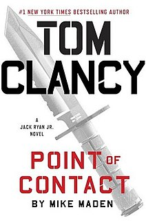 <i>Point of Contact</i> (novel) book by Mike Maden