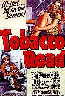 <i>Tobacco Road</i> (film) 1941 film by John Ford