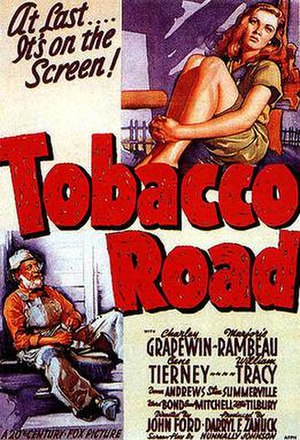 Tobacco Road (film) - Theatrical release poster
