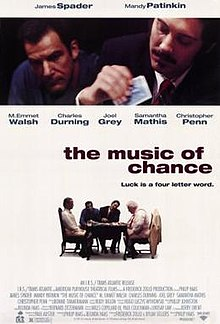 Poster of The Music of Chance (film).jpg