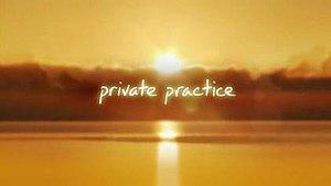 Private Practice (TV series) - Private Practice intertitle