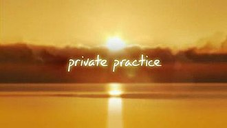 Private Practice (TV series) - Private Practice intertitle