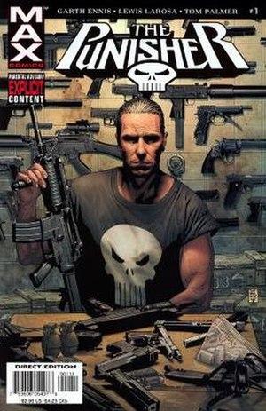 The Punisher (2004 series) - Image: Punisher Frank Castle 1