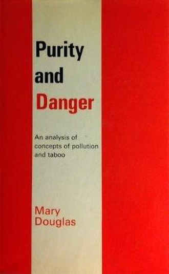 Purity and Danger - Cover of the first edition