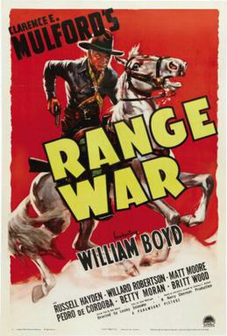 Range War - Theatrical release poster