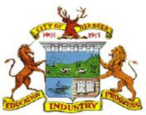 Red Deer, Alberta - Image: Red Deer, Alberta Coat of Arms