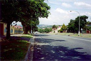 Kensington, Gauteng - Roberts Avenue, Kensington, 2002.