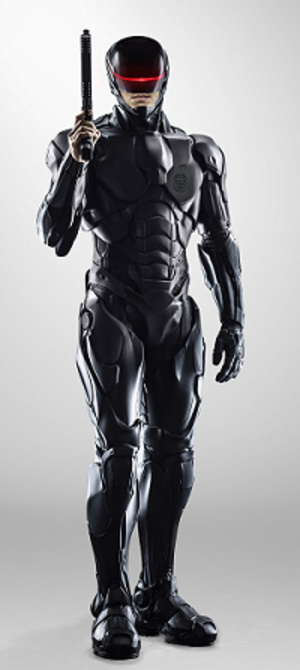 RoboCop (character) - RoboCop as portrayed by Joel Kinnaman in the 2014 remake.