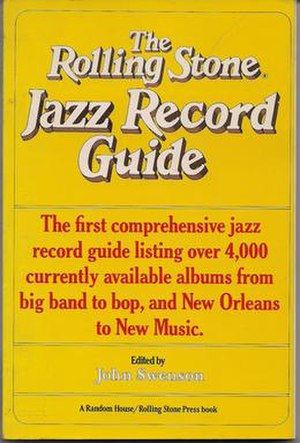 The Rolling Stone Album Guide - Image: Rolling Stone Jazz Record Guide