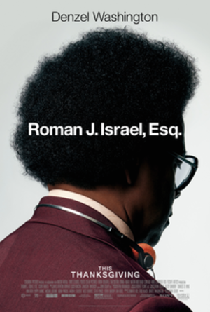 Roman J. Israel, Esq. - Theatrical release poster