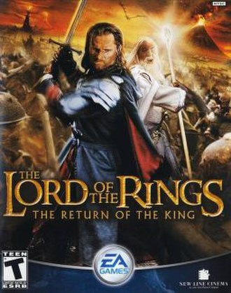 The Lord of the Rings: The Return of the King (video game) - Image: Rotkboxart 2