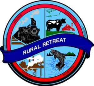 Rural Retreat, Virginia - Image: Rural Retreat Seal