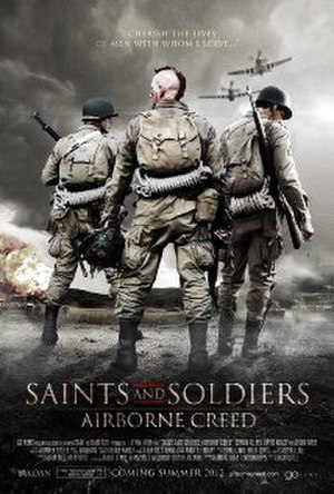 Saints and Soldiers: Airborne Creed - Theatrical release poster