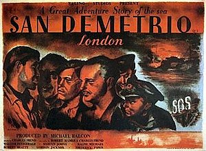 San Demetrio London - Original British quad format cinema poster