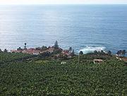 A small village by banana plantations