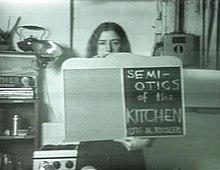 Semiotics Of The Kitchen Wikipedia