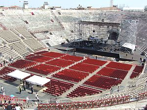 Verona Arena - Inside the Verona Arena