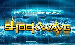Shockwave (Dreamworld) DiskO Coaster in the Dreamworld theme park on the Gold Coast, Australia