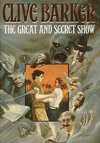 The Great and Secret Show - Cover of first UK edition
