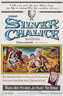<i>The Silver Chalice</i> (film) 1954 film by Victor Saville