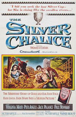 The Silver Chalice (film) - Film poster
