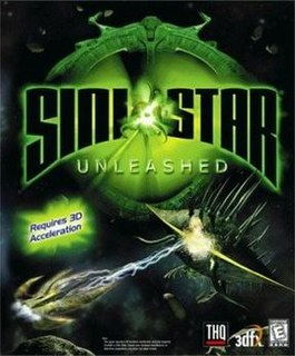 <i>Sinistar: Unleashed</i> 1999 action space shooter video game for Microsoft Windows