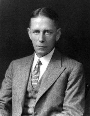 John Adrian Chamier - Chamier in 1931