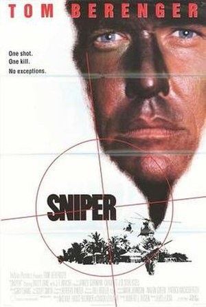 Sniper (1993 film) - Theatrical release poster