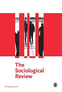 <i>The Sociological Review</i> Academic journal