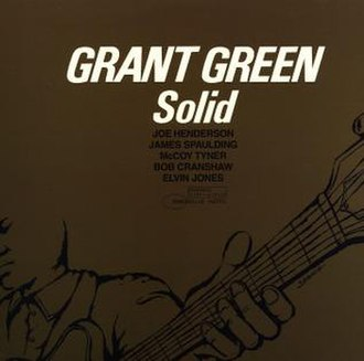 Solid (Grant Green album) - Image: Solid Japanese
