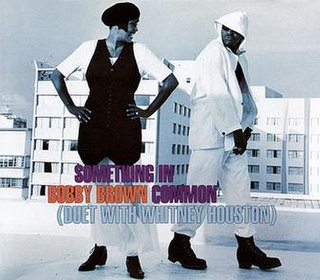 Something in Common 1993 single by Whitney Houston and Bobby Brown