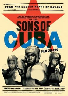 <i>Sons of Cuba</i> 2009 film by Andrew Lang