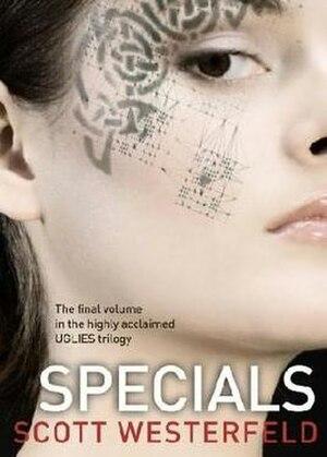 Specials (novel) - Image: Specials (Scott Westerfeld novel cover art)